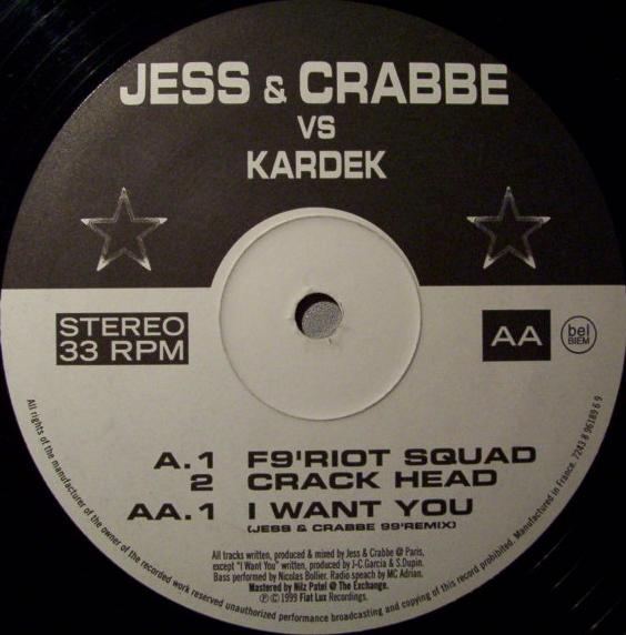 Jess and Crabbe - Crack head